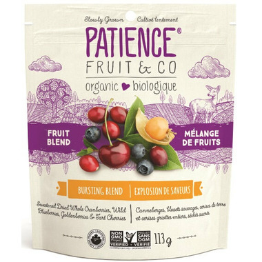 Patience Fruit & Co. Organic Dried Fruit Mixed Berries Bursting Blend