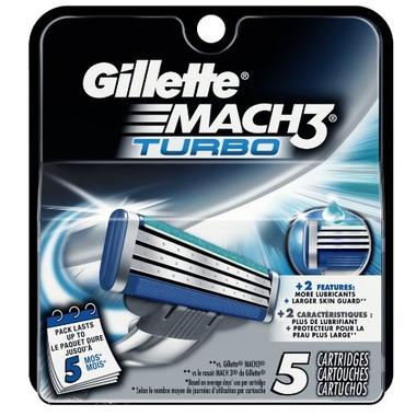 Gillette MACH 3 TURBO Blades
