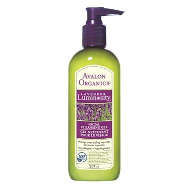 lavender facial cleansing gel