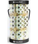 Walpert Festive Crackers Carry All in Soft White, Mint and Rose Gold Dots