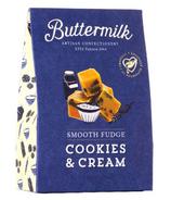 Buttermilk Smooth Cookies & Cream Fudge