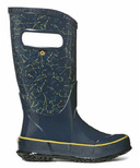 Bogs Rain Boot Constellations Dark Blue Multi