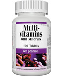 Webber Naturals Multi Vitamin with Minerals