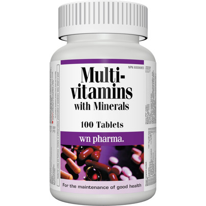 Buy Webber Naturals Multi Vitamin With Minerals 100