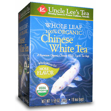 Uncle Lee\'s Whole Leaf Organic White Tea