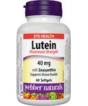 Webber Naturals Lutein Maximum Strength with Zeaxanthin