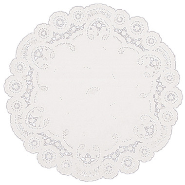 10 Inch White Paper Lace Doilies
