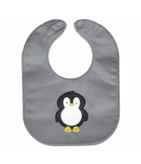 Mally Designs Penguin Leather Bib