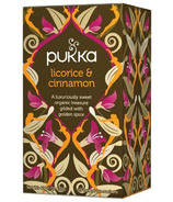 Pukka Licorice & Cinnamon Tea