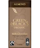 Green & Black's Organic Milk Chocolate Almond