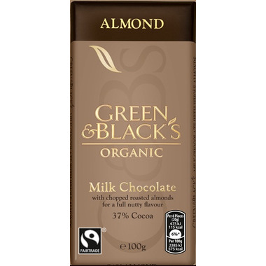 Green & Black\'s Organic Milk Chocolate Almond