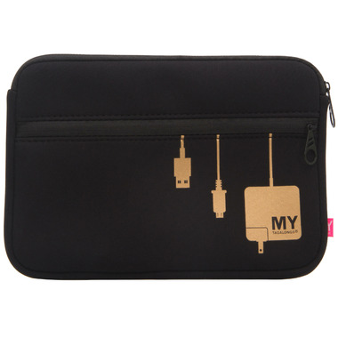 My Tag Alongs Plug In Metallic Tech Organizing Pouch