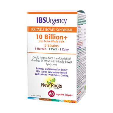 New Roots Herbal IBS Urgency 10 Billion