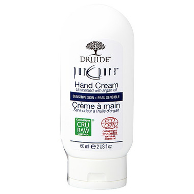 Druide Unscented Pure Hand Cream with Argan Oil