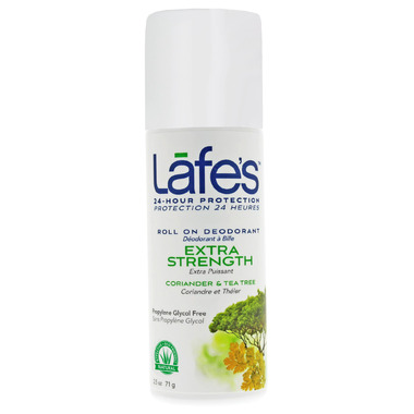 Lafe\'s Extra Strength Roll-On Deodorant with Coriander & Tea Tree