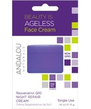 ANDALOU naturals Resveratrol Q10 Night Repair Cream Pod