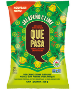 Que Pasa Jalapeno & Lime Organic Torilla Chips