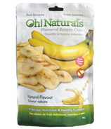 Oh! Naturals Banana Chips Natural Flavour