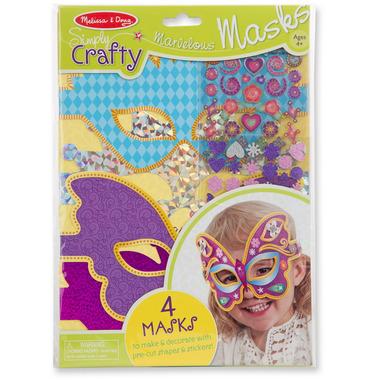 Melissa & Doug Simply Crafty Marvelous Masks