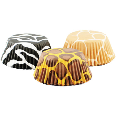 Animal Prints I Standard Bake Cups Set