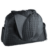 Lug Cartwheel Classic Fitness/Overnight Bag Midnight Black