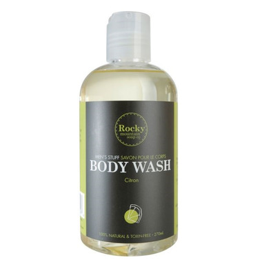 Rocky Mountain Soap Co. Men\'s Stuff Citron Body Wash