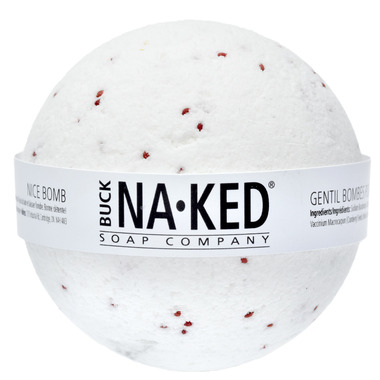Holiday Buck Naked Soap Company Nice Bath Bomb