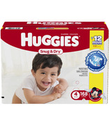 Huggies Snug & Dry Diapers Mega Colossal Pack