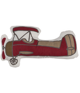 Lolli Living Vintage Aeroplane Shaped Pillow