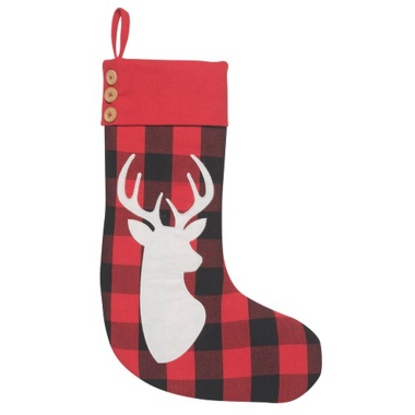 Now Designs Buffalo Check Deer Stocking