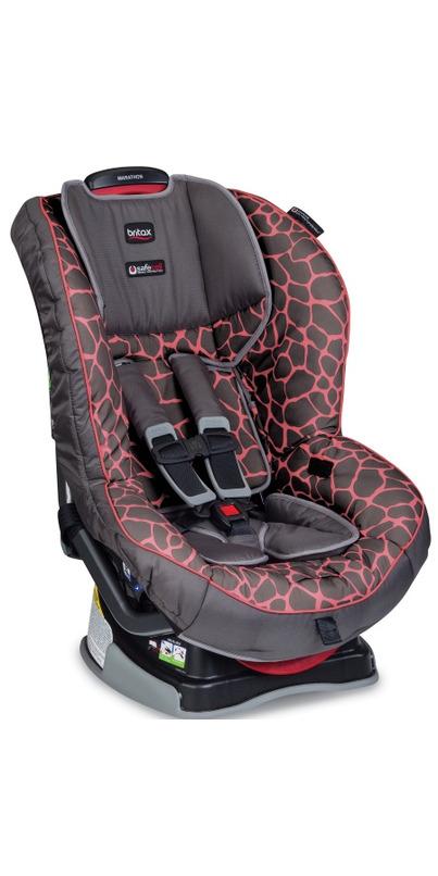 buy britax marathon g4 1 convertible car seat pink giraffe at free shipping 35 in. Black Bedroom Furniture Sets. Home Design Ideas