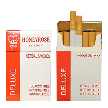 Honeyrose De Luxe Herbal Cigarettes