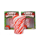 Edible Candy Cane Shot Glass