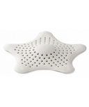 Umbra Starfish Drain Hair Catcher in White