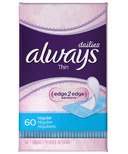 Always Dailies Thin Panty Liners
