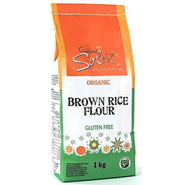 Buy cuisine soleil organic brown rice flour at for Cuisine soleil