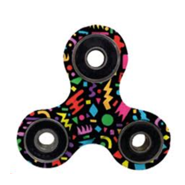 Twin Tiger Printed Fidget Spinner