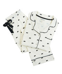 Hatley Black Bears Women's Cotton Jersey Pajama Set