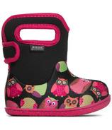 Bogs Baby Waterproof Boots Owls