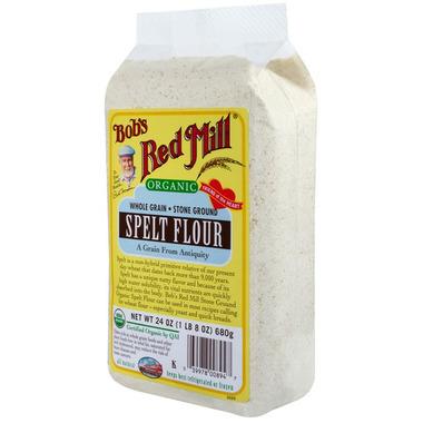 Bob\'s Red Mill Stone Ground Organic Spelt Flour