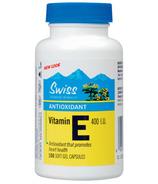 Swiss Natural Sources Vitamin E Soft Gel Capsules