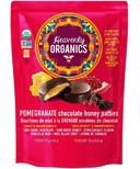 Heavenly Organics Pomegranate Chocolate Honey Patties