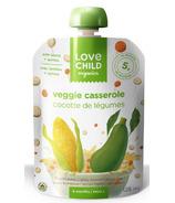 Love Child Organics Veggie Protein Pouch Veggie Casserole