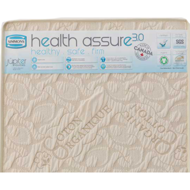 Simmons Health Assure Organic Cotton Crib Mattress