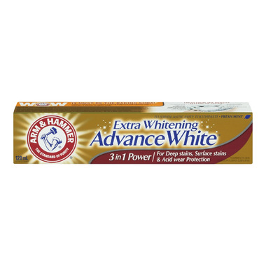 Arm & Hammer Extra Whitening Advance White 3-in-1 Power Paste