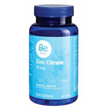 Be Better Zinc Citrate