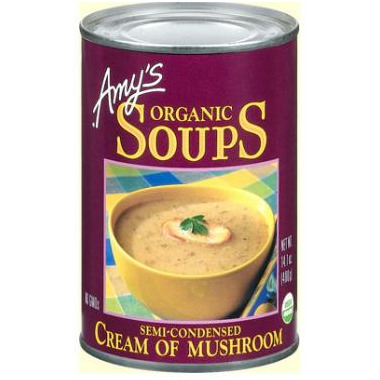Amy\'s Organic Cream of Mushroom Soup