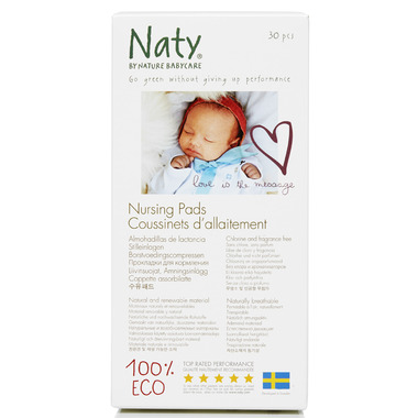 Naty by Nature Babycare Nursing Pads