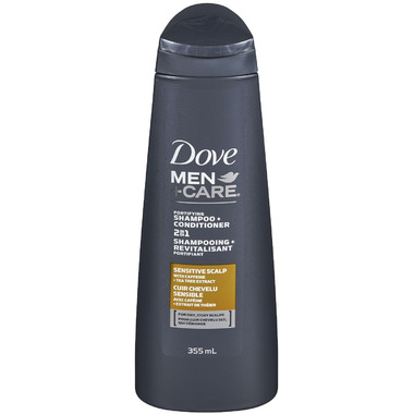 Dove Men +Care Sensitive Scalp Shampoo + Conditioner