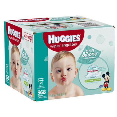 Buy Huggies One And Done Refreshing Baby Wipes At Well Ca